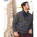 Modèle tricot pull homme gratuit