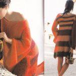 Modèle tricot robe femme