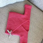 Brassiere bebe tricot debutant