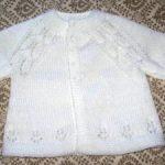 Modele gratuit tricot layette naissance