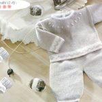 Tricoter pantalon layette