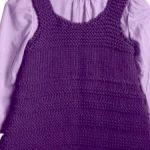Tricoter robe bebe facile