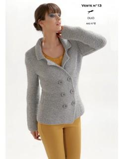 patron tricot gilet femme gratuit