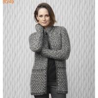 Tricoter une veste a capuche pour femme