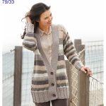 Veste de laine femme