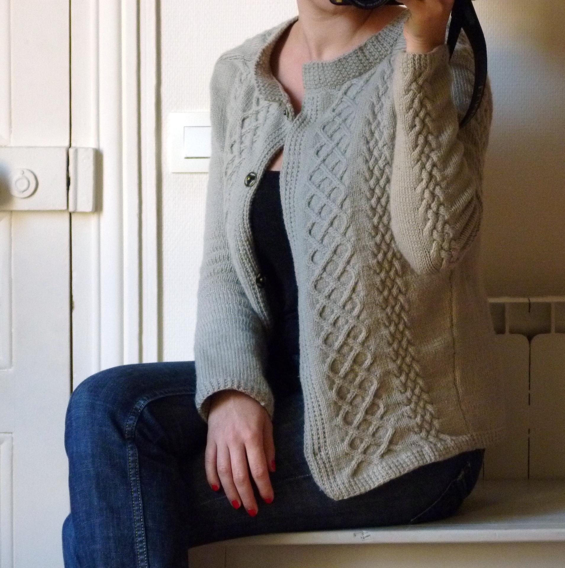 tuto gilet tricot