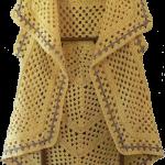 Modele veste crochet femme