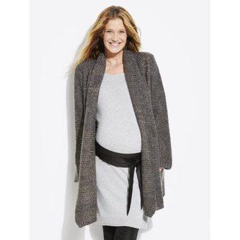 tricoter une veste longue femme laine et tricot. Black Bedroom Furniture Sets. Home Design Ideas