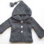 Gilet tricot bébé facile