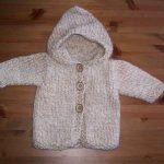 Veste bebe tricot