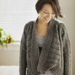 Modele gilet a tricoter