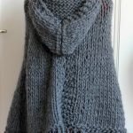 Tricoter un poncho femme