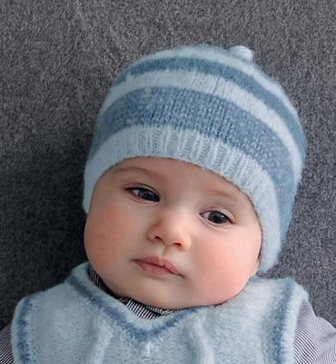 modele gratuit tricot bonnet enfant