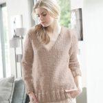 Pull facile a tricoter femme gratuit