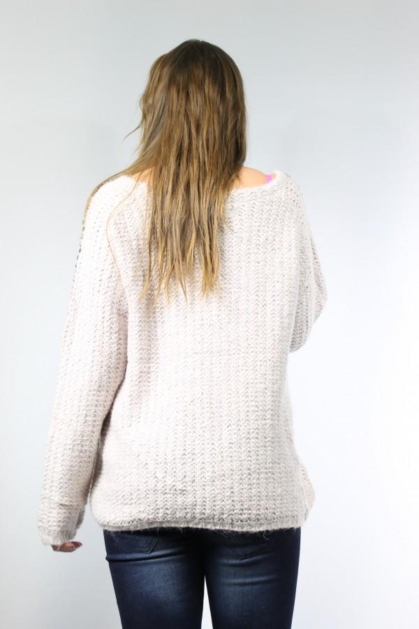 pull mohair femme laine et tricot. Black Bedroom Furniture Sets. Home Design Ideas
