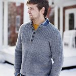 Modele tricot pull homme