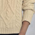 Pull laine merinos femme
