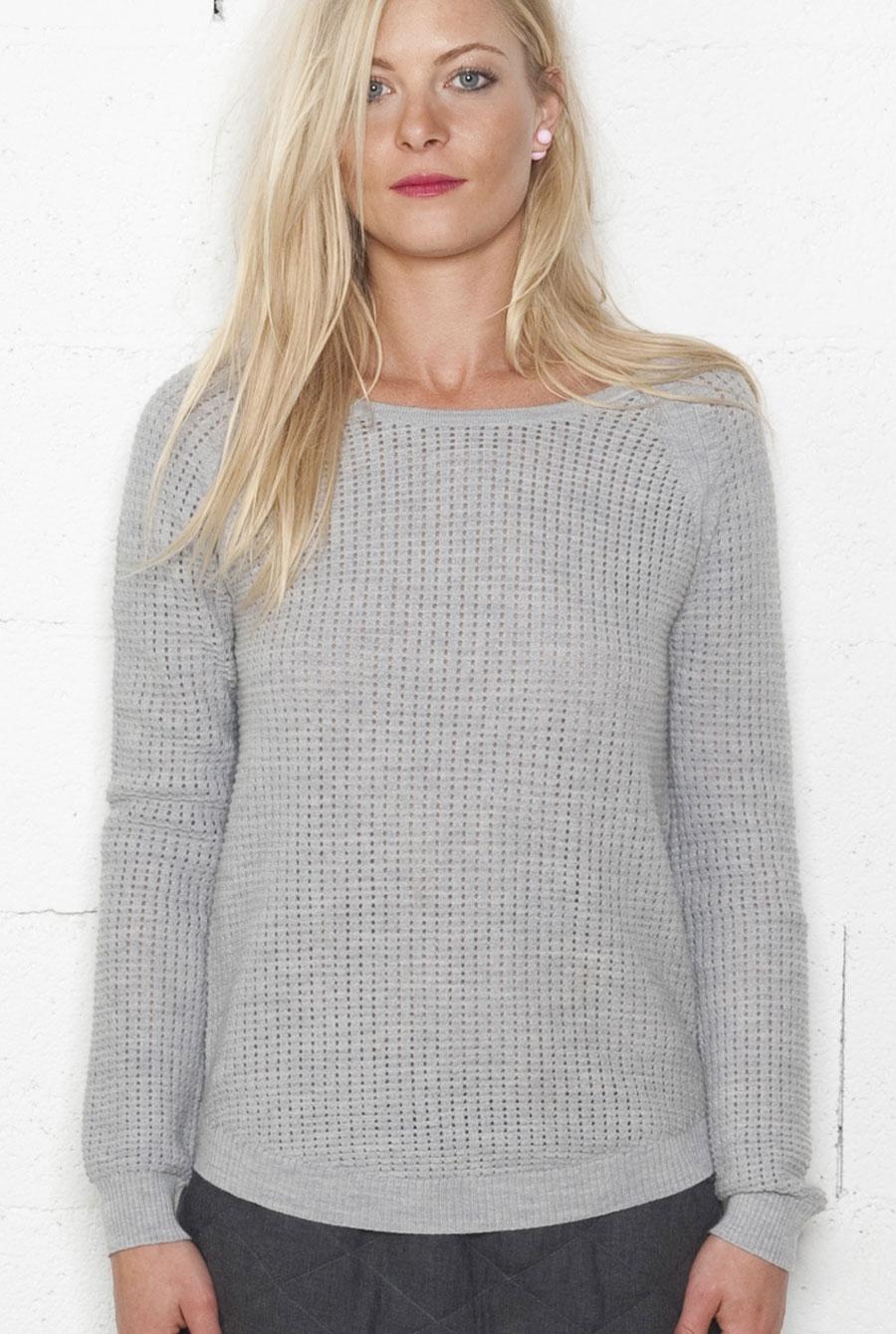 pull beige femme laine laine et tricot. Black Bedroom Furniture Sets. Home Design Ideas