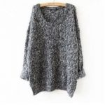 Pull grosse laine femme