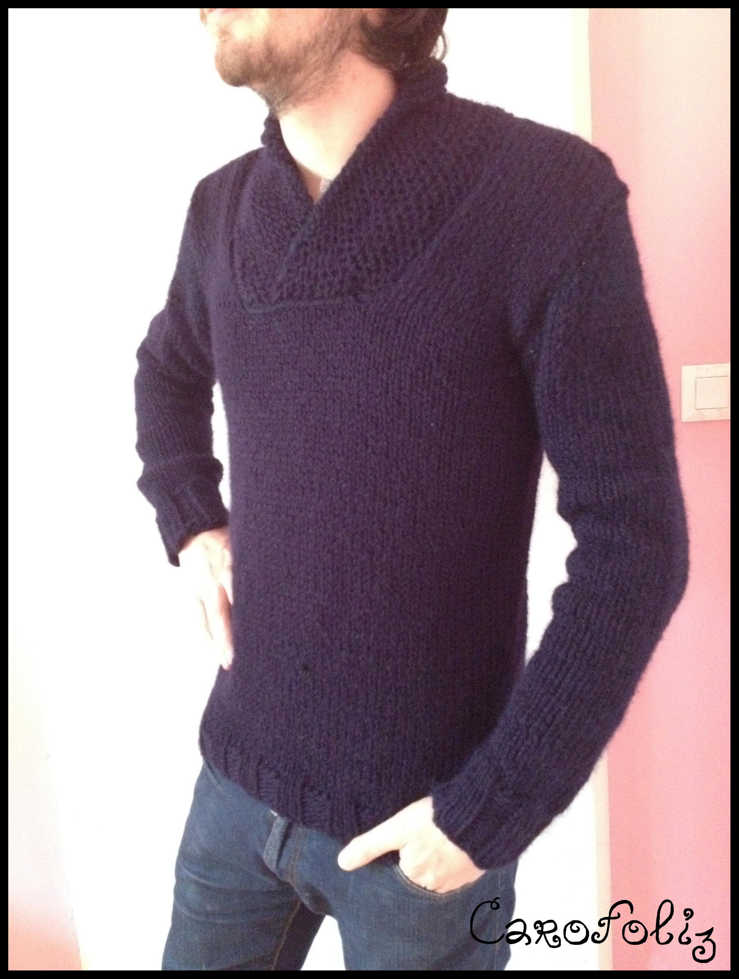 tricot pour homme laine et tricot. Black Bedroom Furniture Sets. Home Design Ideas
