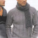 Modele de pull homme a tricoter gratuit