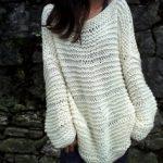 Gros pull laine