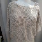 Tricot coton femme