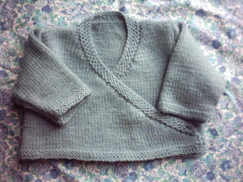 modeles tricot layette facile