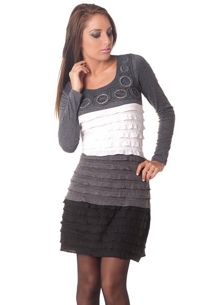 d6b963a3478 Vetement femme chic - Laine et tricot