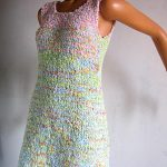 Robe en tricot pour femme