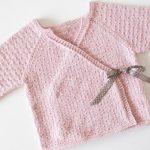 Brassière à tricoter pour nouveau né