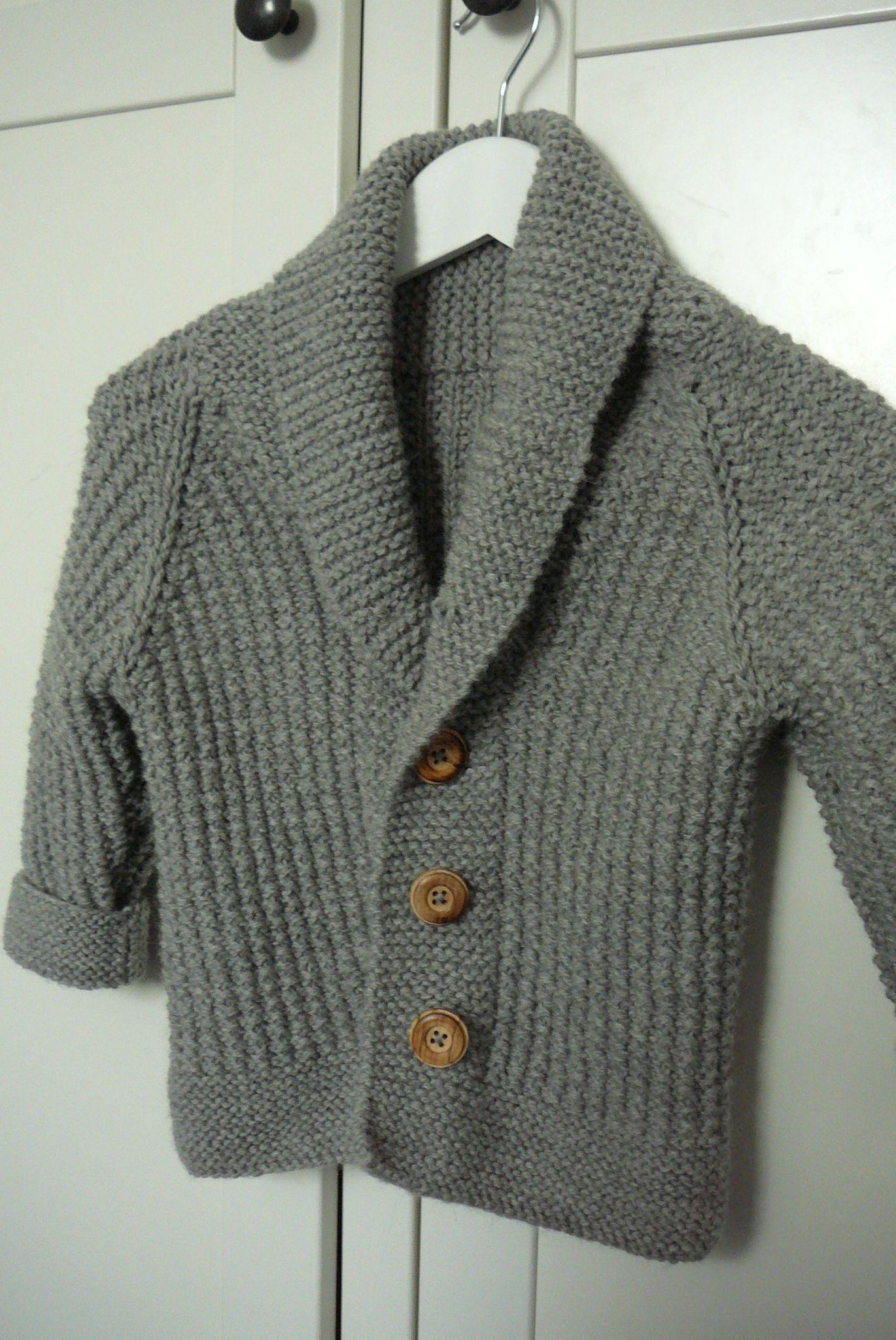 modele de tricot gratuit pour garcon de 2 ans