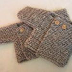 Modele de tricot pour bebe facile