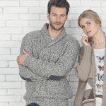 Modele pull homme à tricoter gratuit