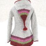 Veste en laine femme avec capuche