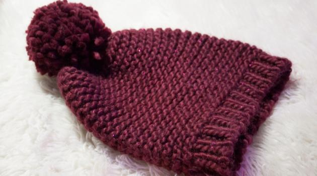 Mod le tricot bonnet femme gratuit laine et tricot - Comment tricoter un bonnet pour bebe ...