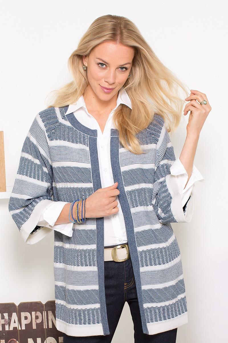 Célèbre Pull jacquard femme - Laine et tricot SA05