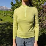 Tee shirt laine merinos femme