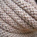 Modèle écharpe tricot gratuit