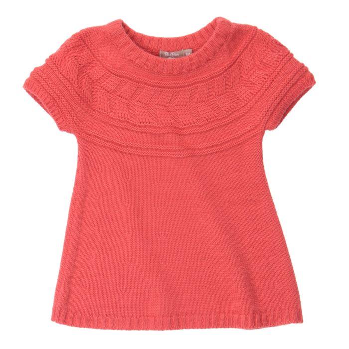 modele robe fille tricot gratuit