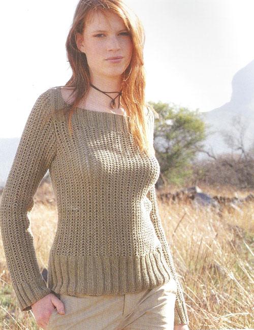 tricoter pull femme gratuit