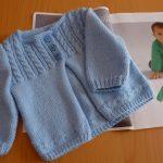 Modele gratuit layette a tricoter