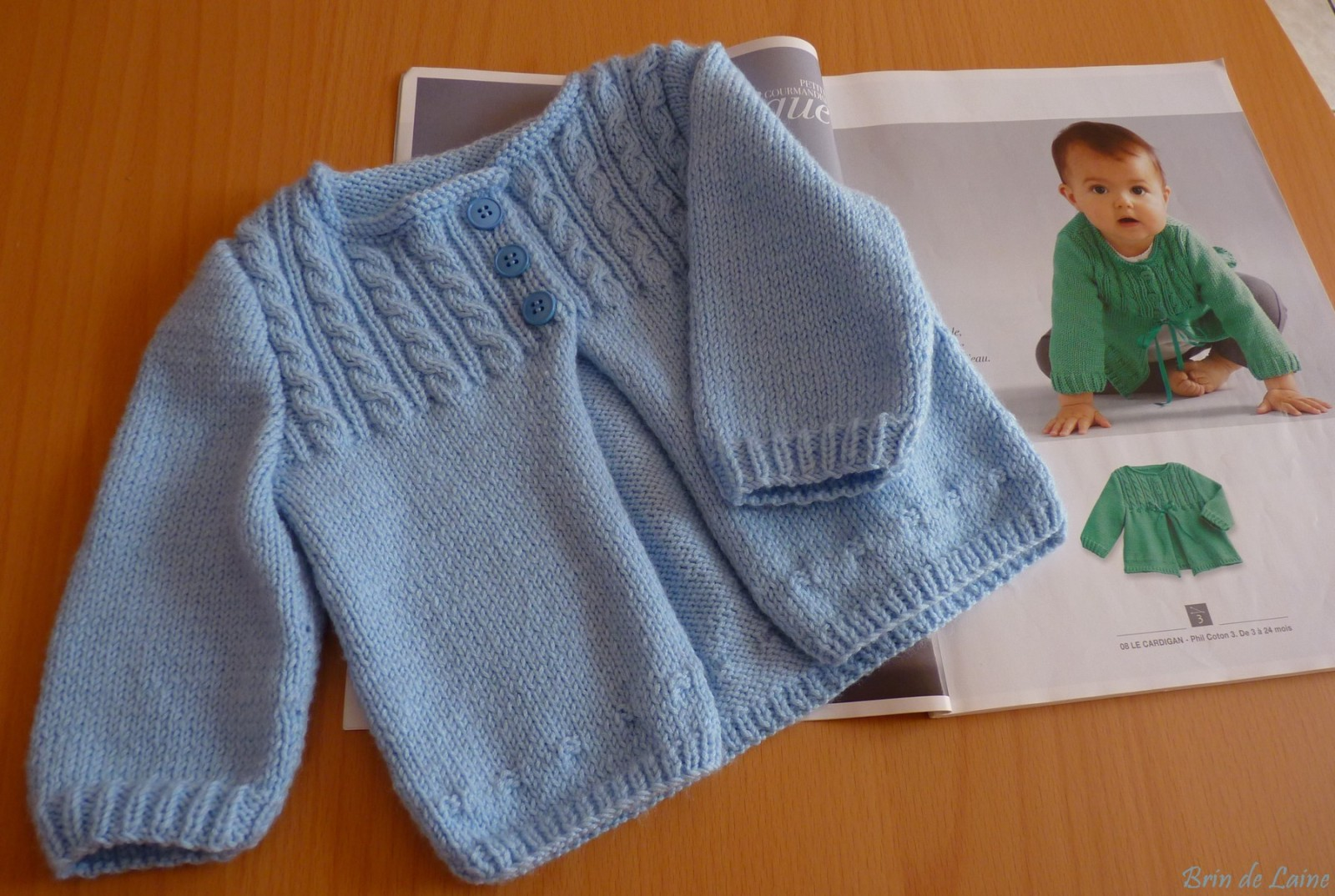catalogue tricot bebe gratuit