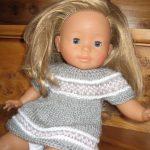 Modele tricot poupon 36 cm gratuit