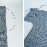 Gilet facile a tricoter