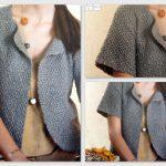 Modele tricot gilet facile