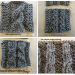 Point torsade tricot