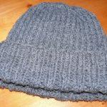Tuto bonnet tricot homme