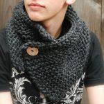 Echarpe snood a tricoter