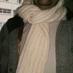 Echarpe laine homme tricot